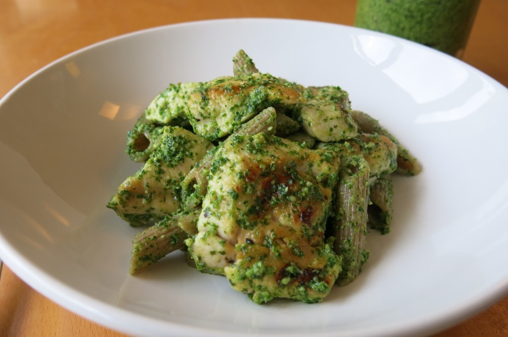 Kale and cashew pesto recipe