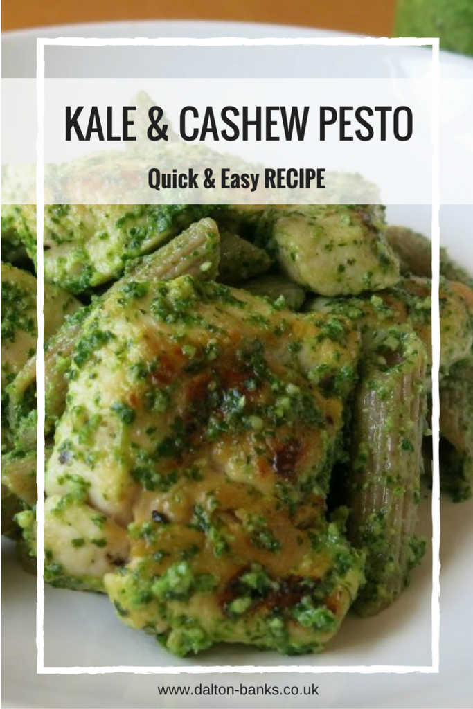Kale and cashew pesto