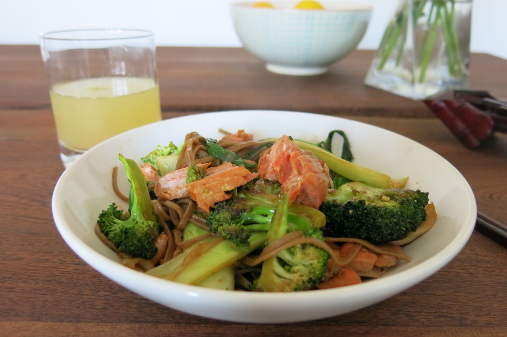 Simple Salmon Stir-fry Recipe