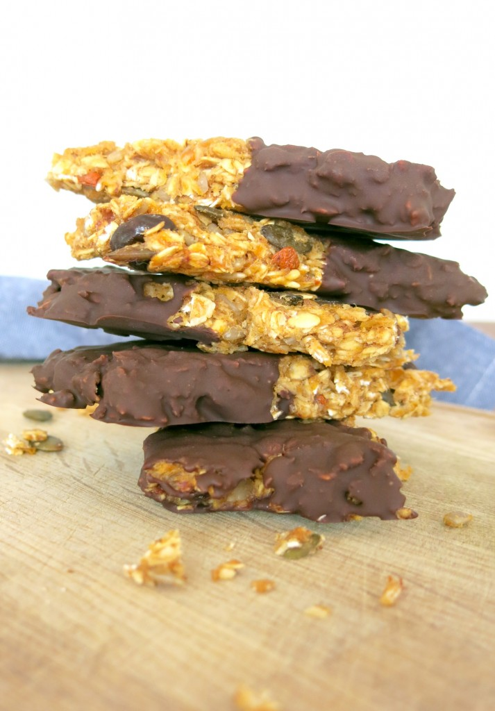 G-Bar, quick and easy granola bar recipe
