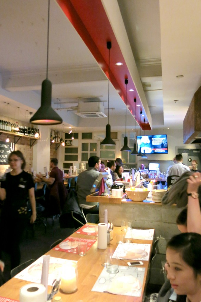 Review of Clockjack, Soho. All the chicken.
