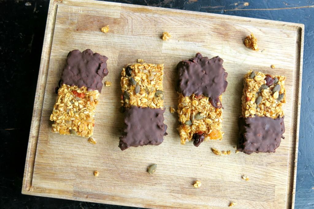 G-Bar, quick and easy granola bar recipe