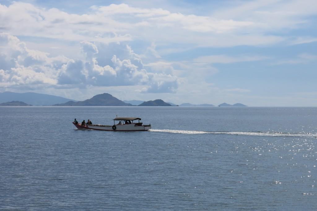 Komodo Dragons Boat Trip