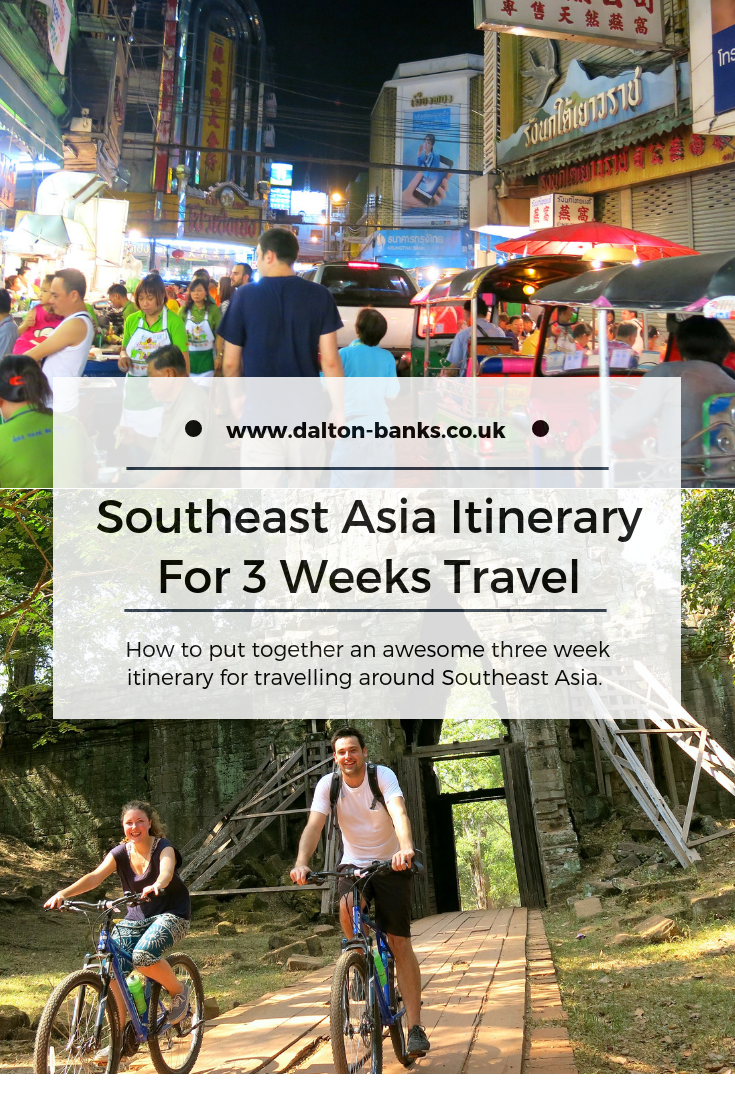 Southeast Asia Itinerary for 3 weeks travel. How to plan an awesome trip - where we went and how we did it. Includes Thailand, Laos and Cambodia
