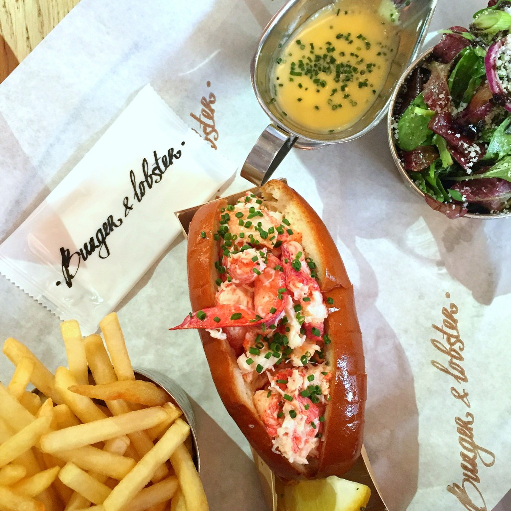 Review Burger and Lobster Threadneedle Street