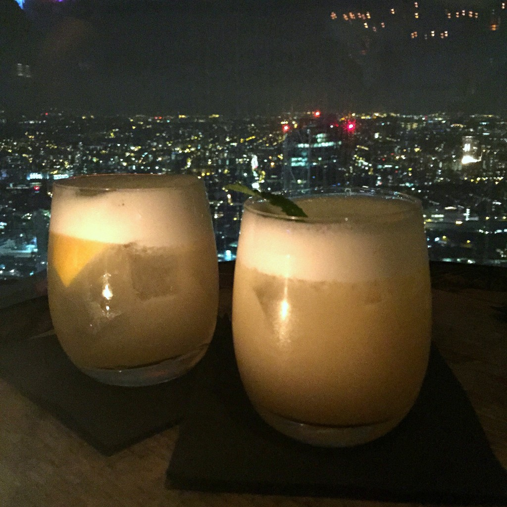 Review of Duck & Waffle Liverpool Street