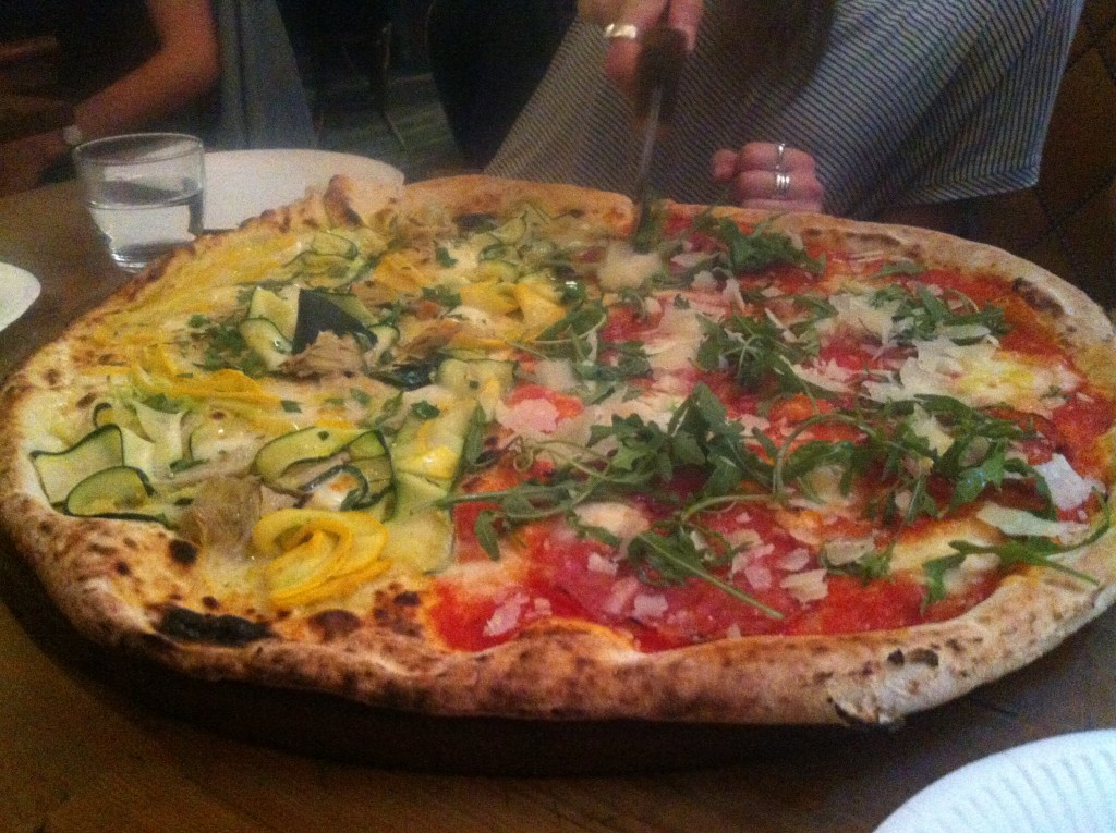Top 5 pizza in London - Biggest pizza