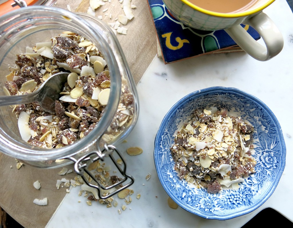 Quick and easy granola recipe