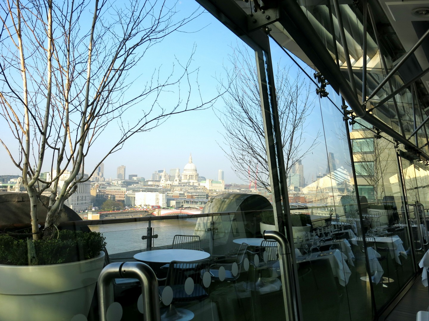 Afternoon Tea at the OXO Tower, South Bank