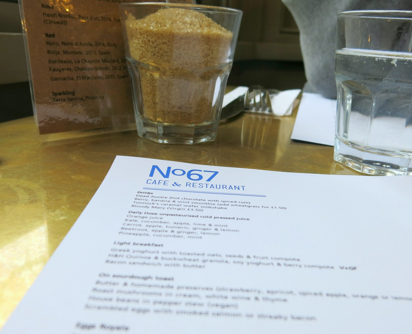 Brunch at No67 Cafe Peckham