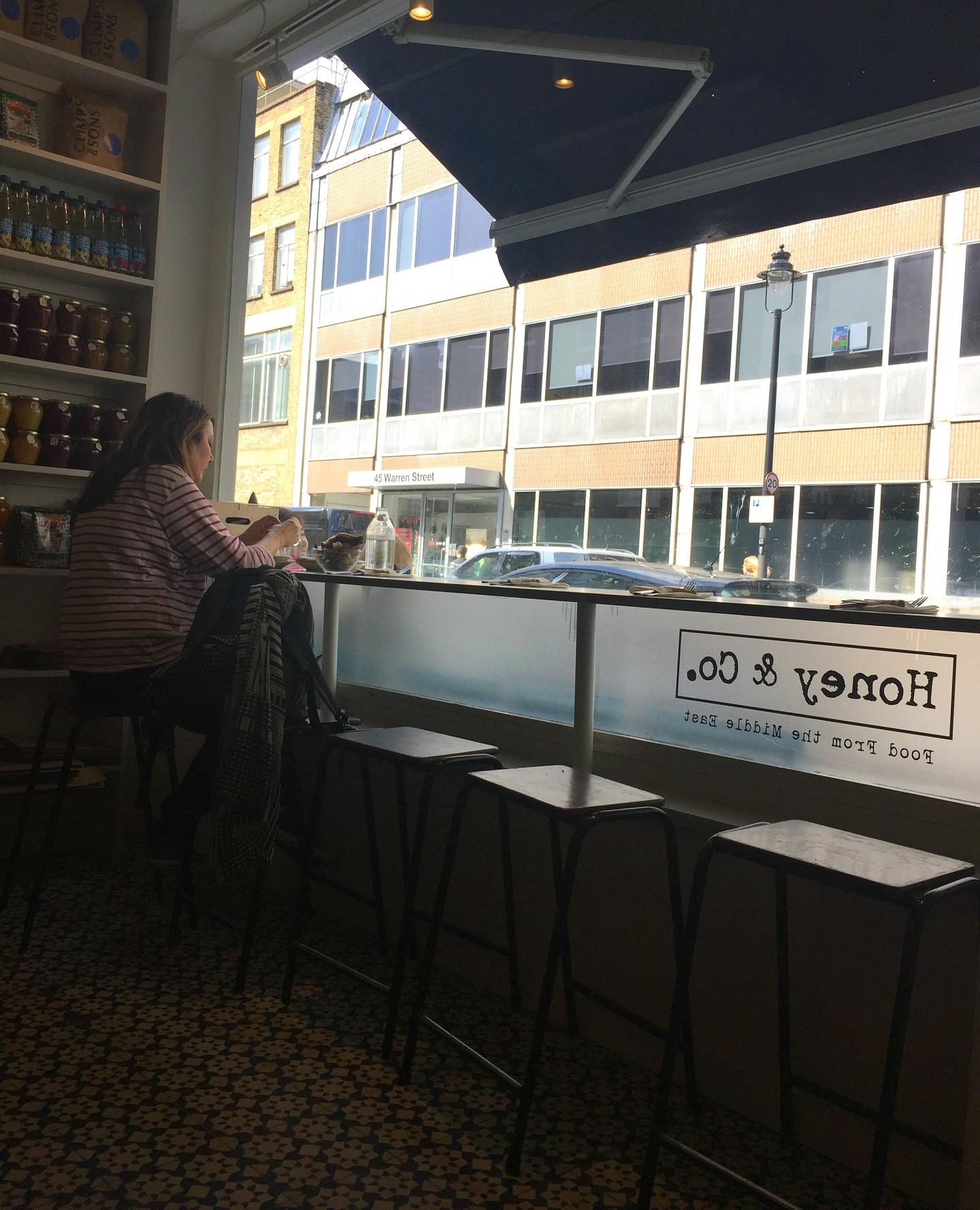 Lunch at Honey & Co, Warren Street