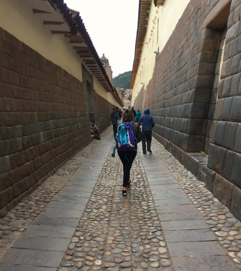 Exploring the old city of Cusco, Peru.