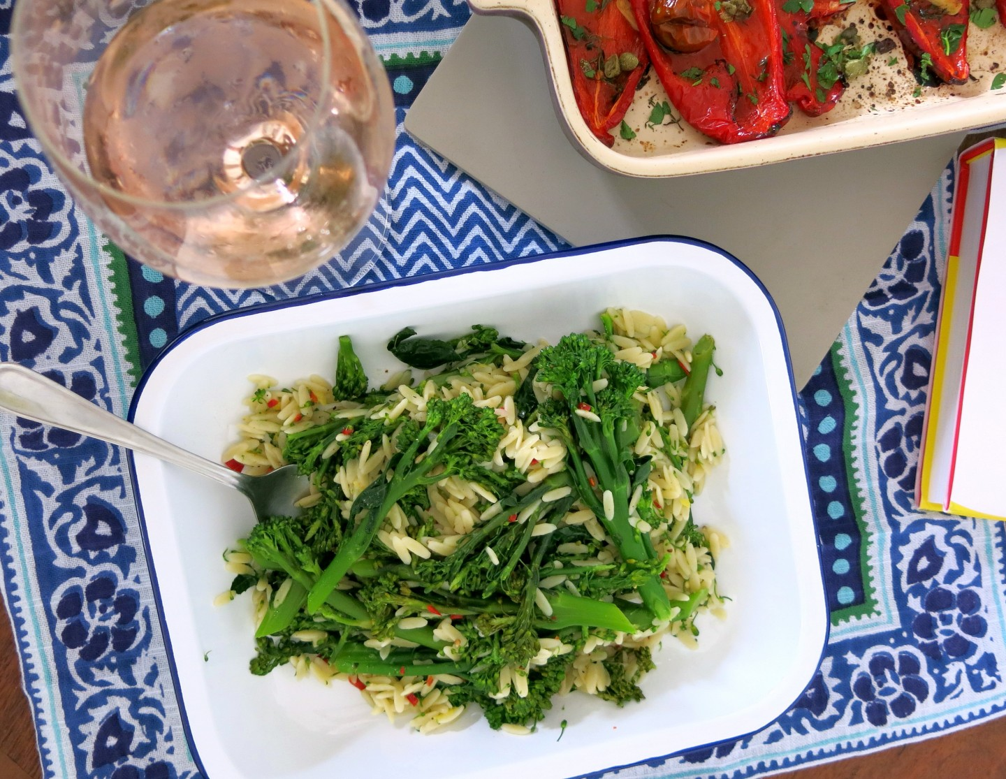 An alternative vegetarian Sunday lunch that only takes 45 minutes from start to finish!