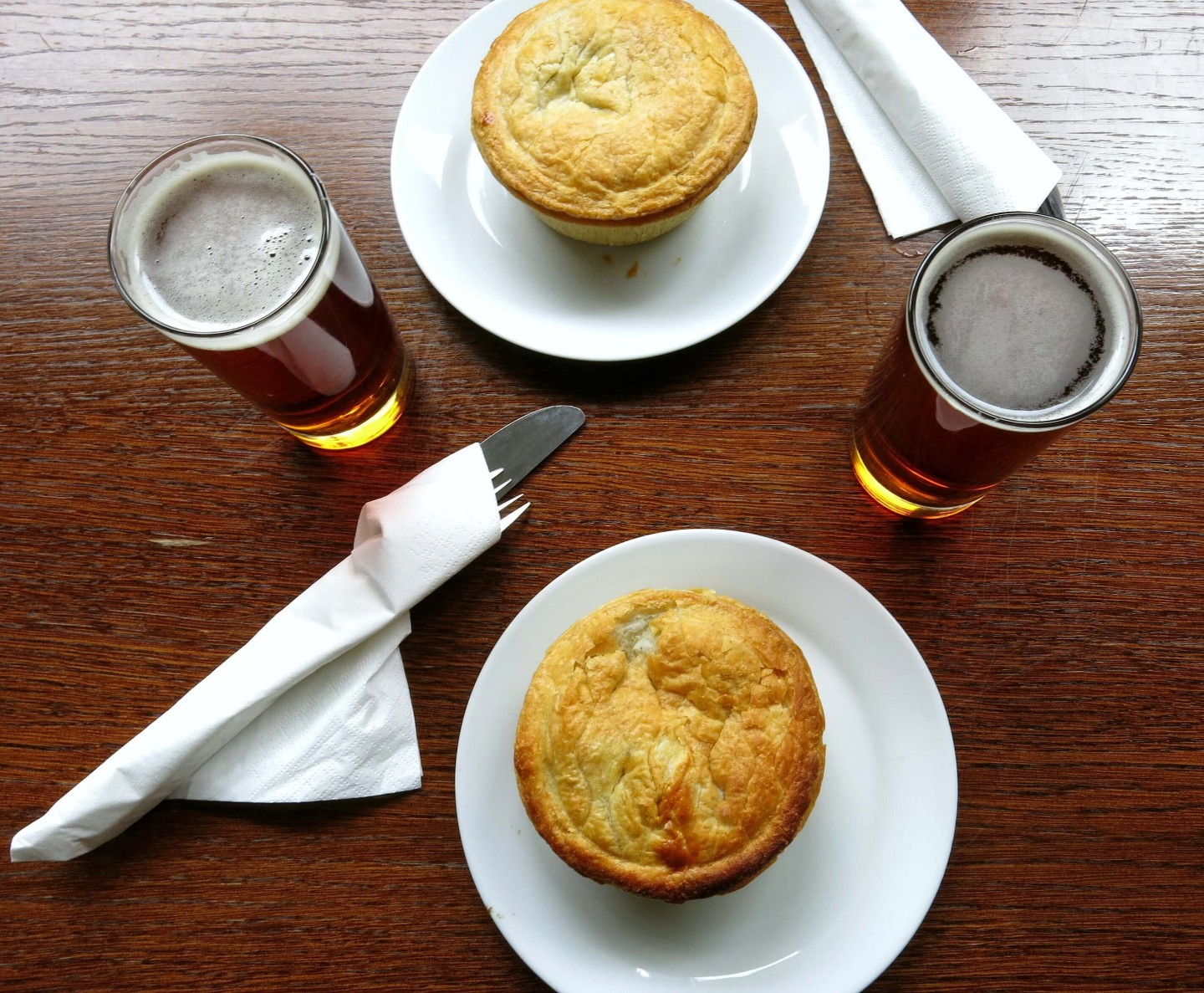 A historic food and beer tour of London.