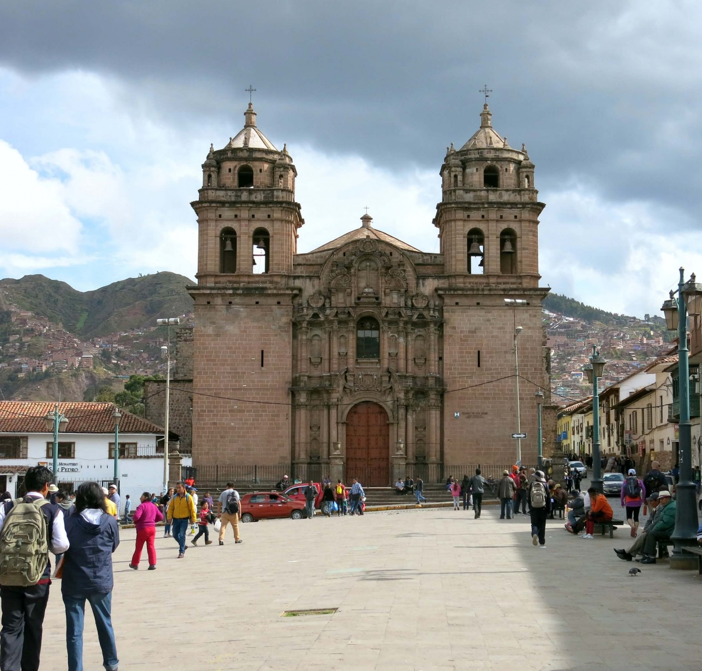 Cusco in Peru is a wonderful city to explore. This ancient city is filled with beautiful architecture!