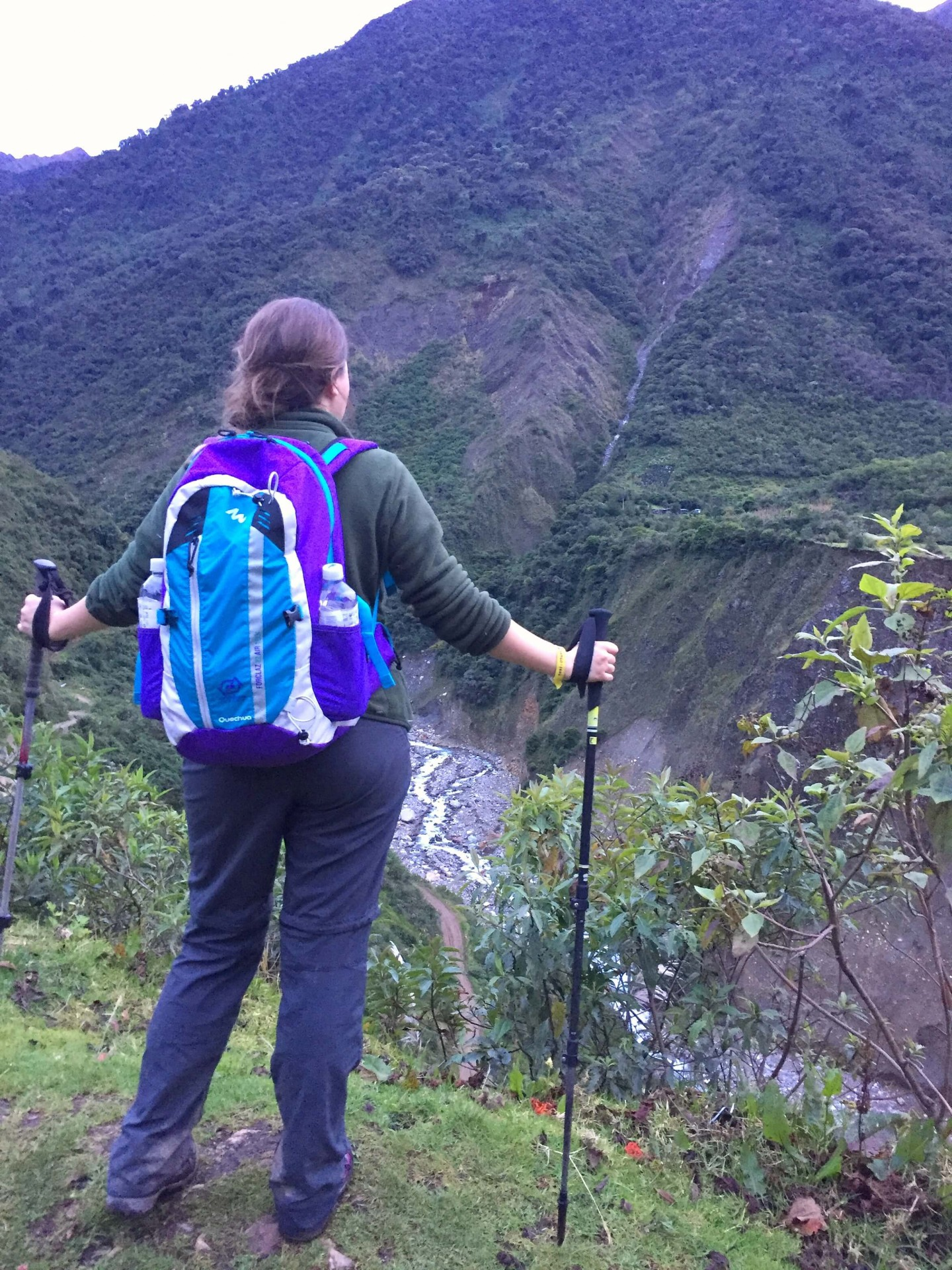 We did the 4 day Salkantay trek to Machu Picchu.