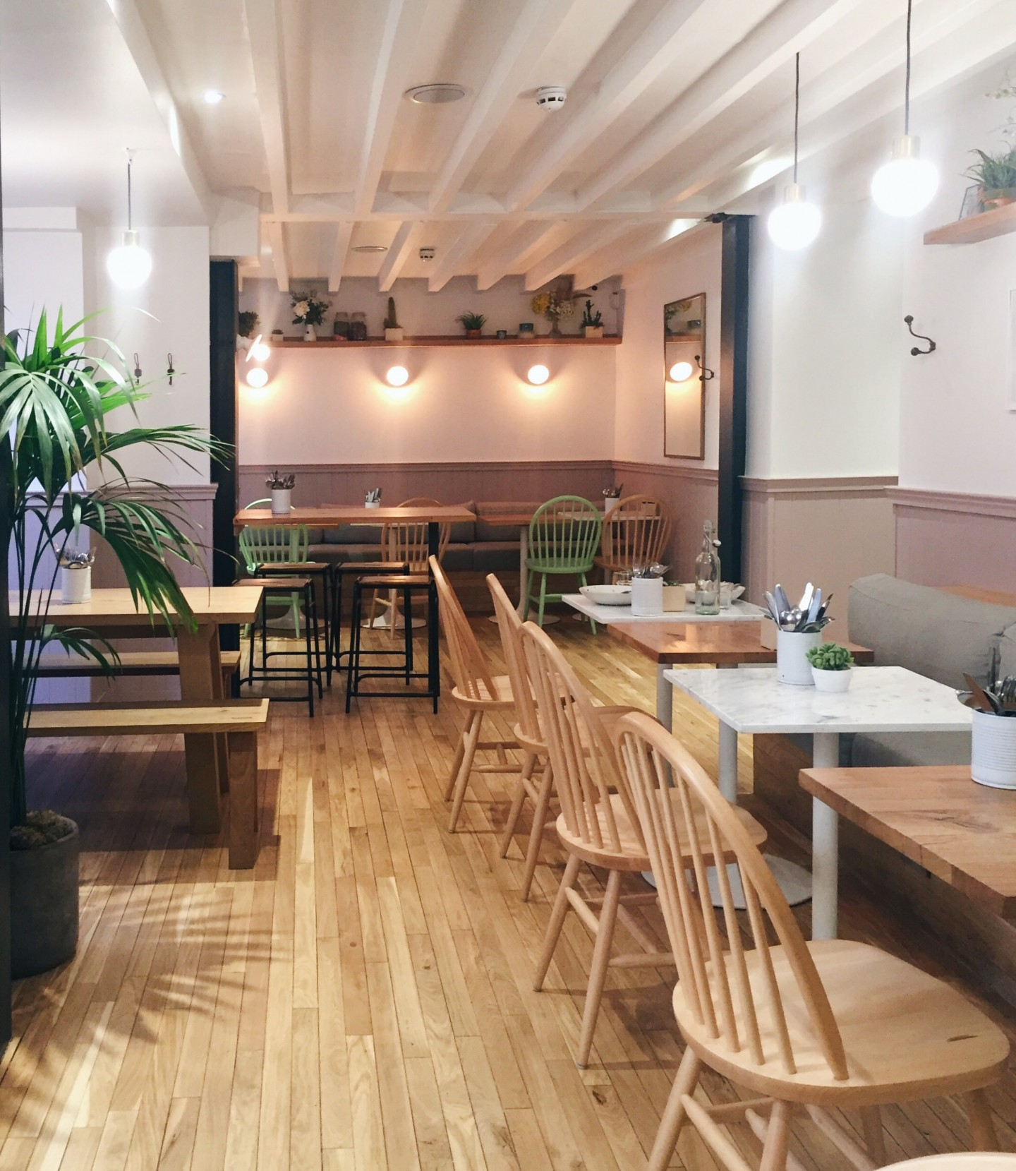 The interiors at The Mae Deli in make me want to move in!