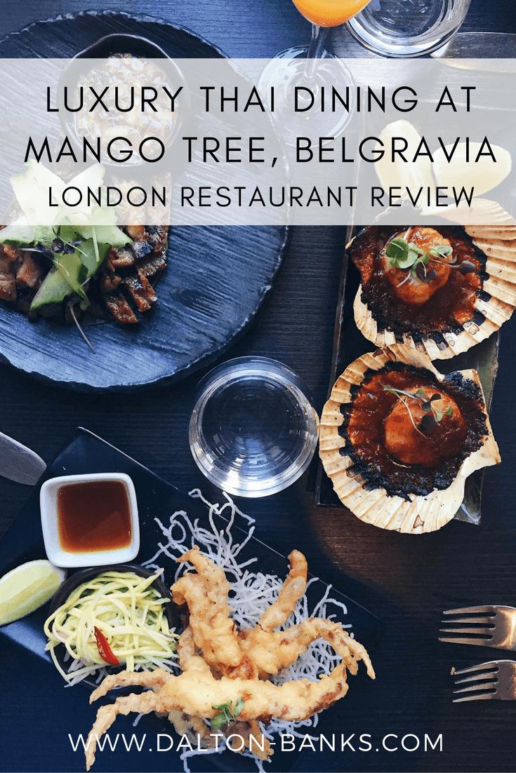 Luxury Thai dining in London at Mango Tree, Belgravia.