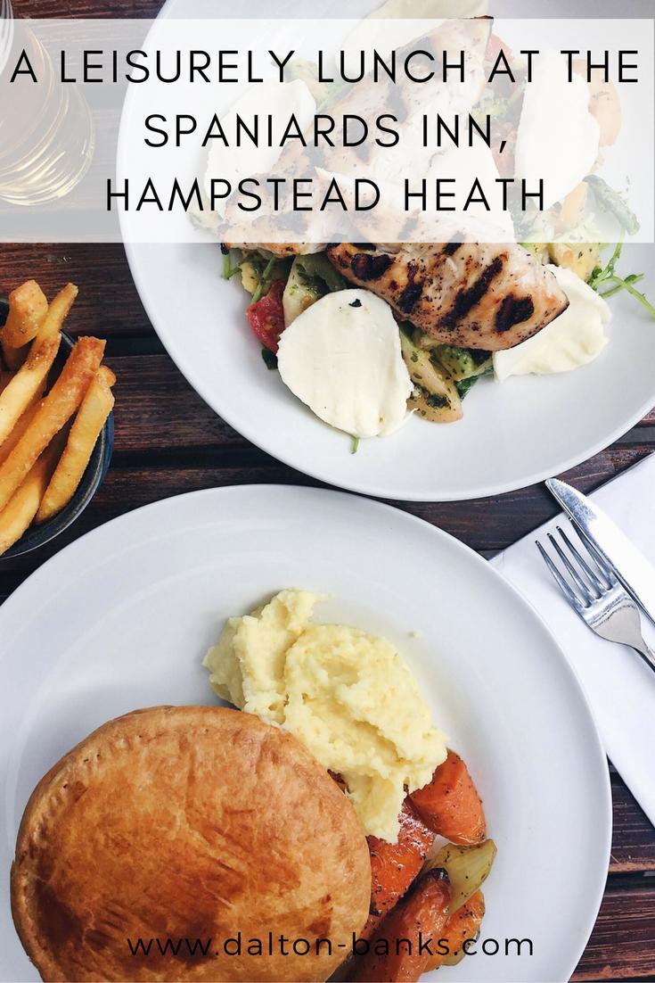 A Leisurely Lunch At The Spaniards Inn, Hampstead Heath