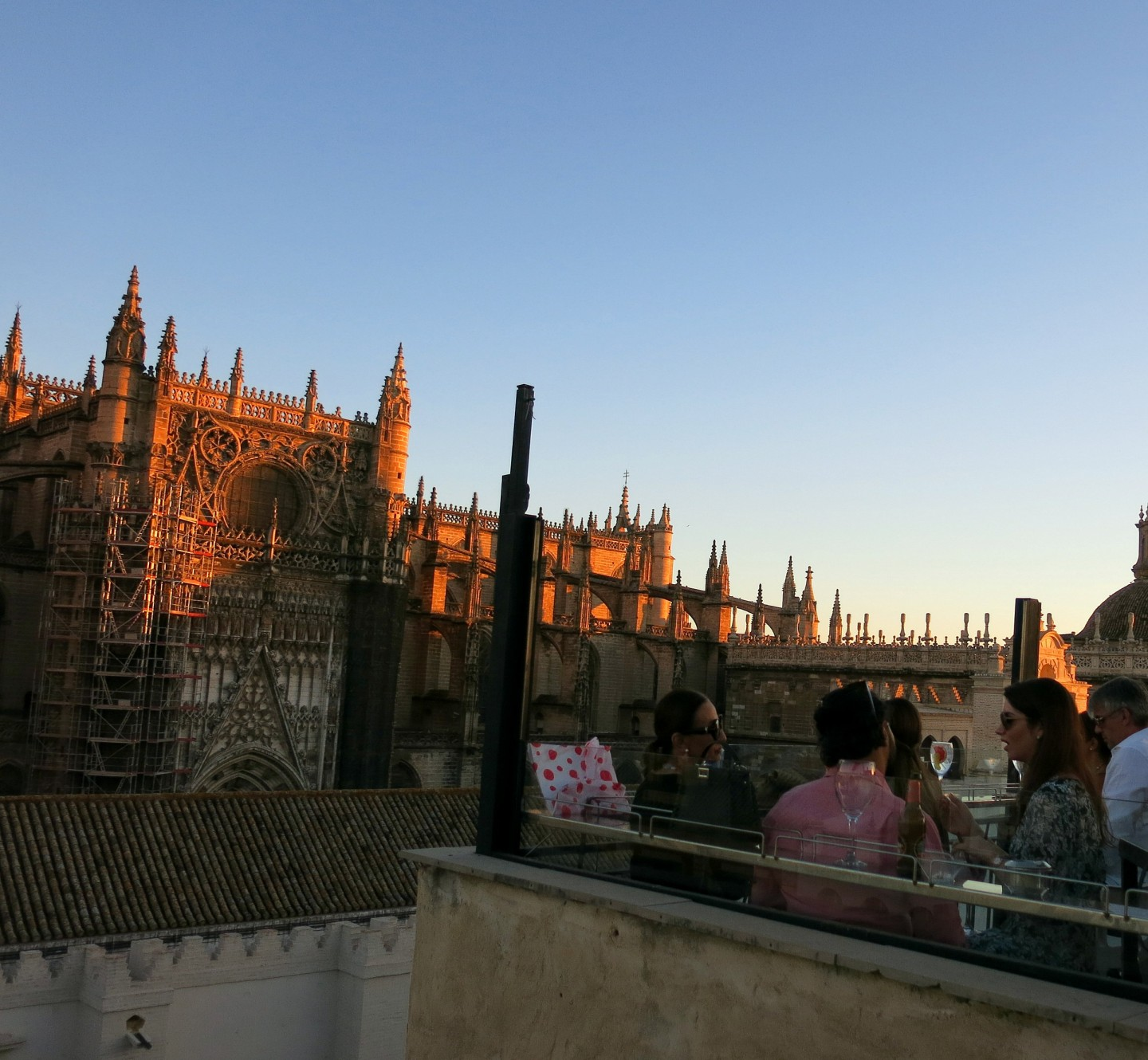 When visiting Seville you must watch the sun set from one of the rooftop bars!