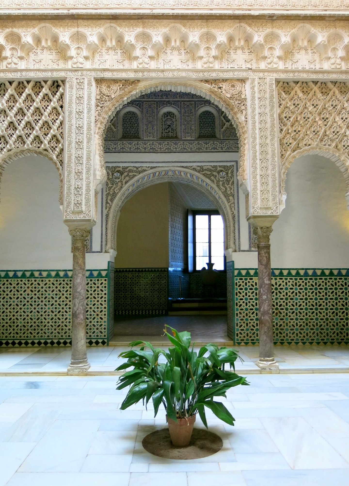 The Real Alcázar in Seville, Spain, is not to be missed on your visit to this European city. It is stunning and was used in the filming of Game of Thrones! This should be top of your list when travelling to Seville.