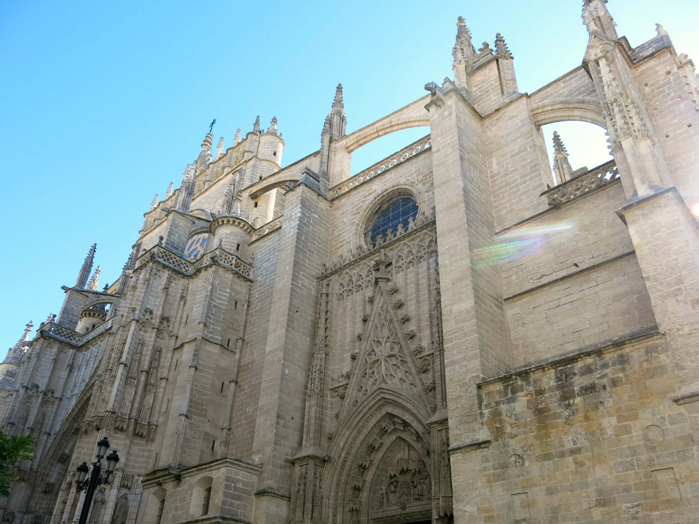Find out how you can skip the long queues at Seville Cathedral and other travel hacks for when you visit Seville in Spain.