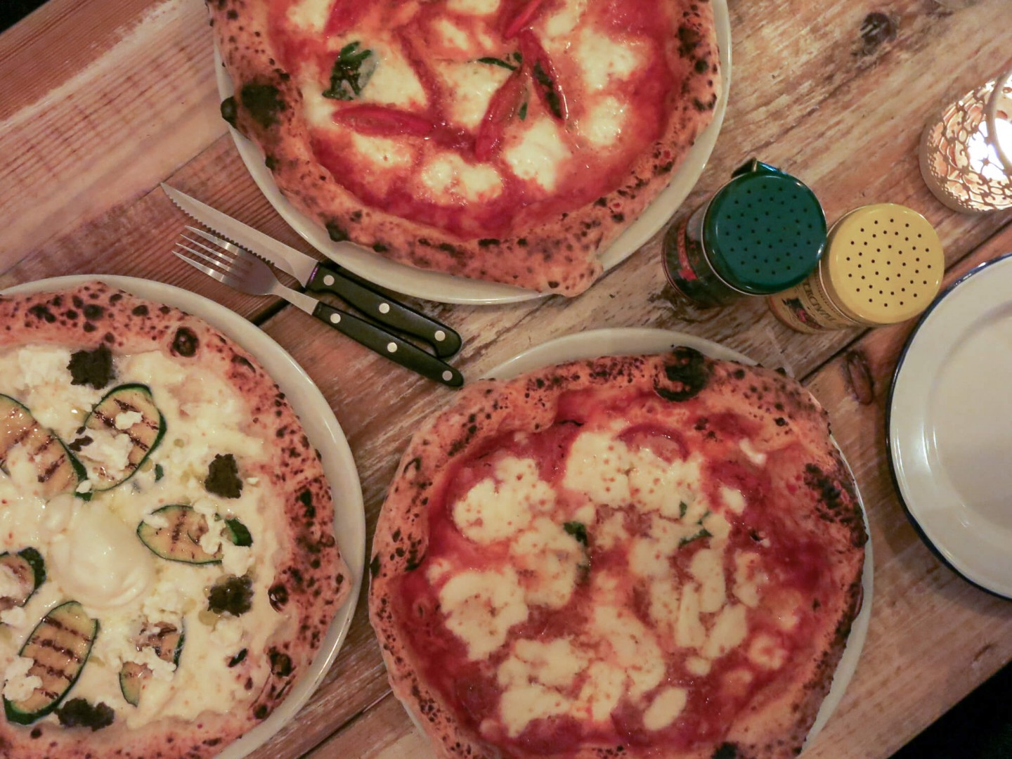 London Pizza. Pizza at Meridionale, Fulham