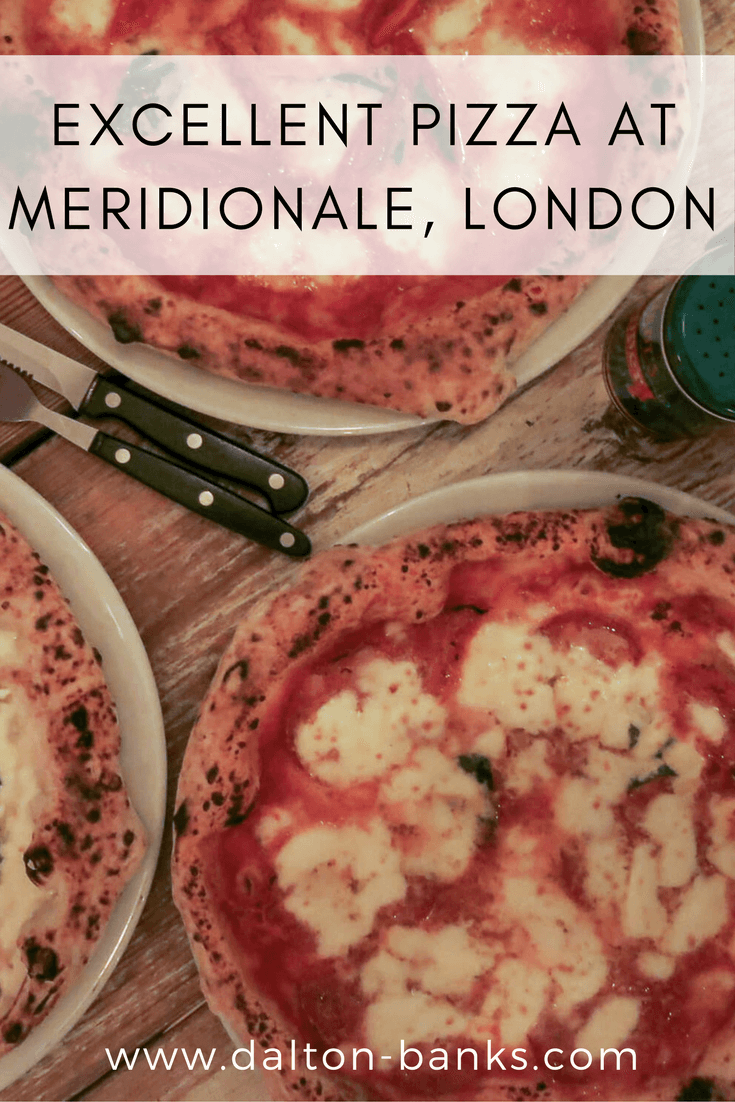 Pizza at Meridionale, Fulham