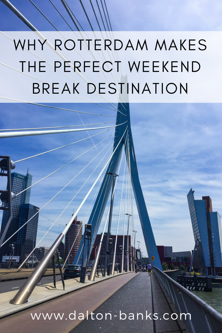 The Dutch city of Rotterdam is the perfect European city for a weekend break.