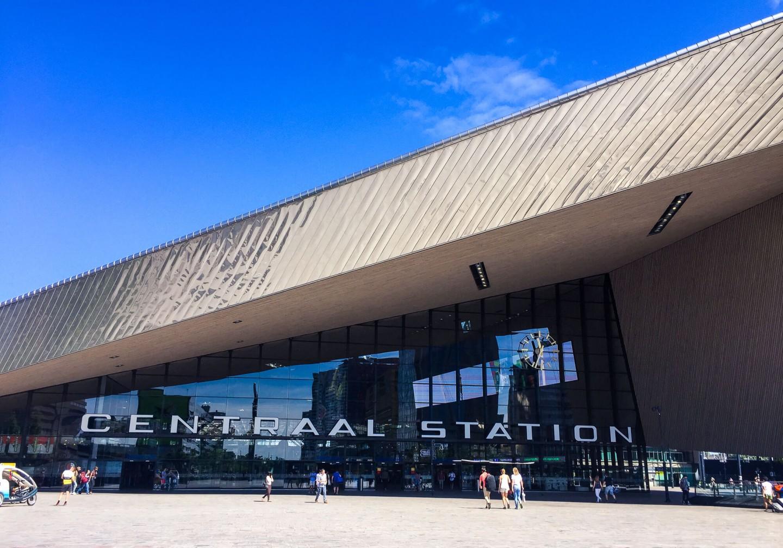 Rotterdam Centraal Station. Beautifully designed!