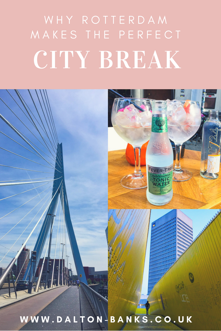 A guide to why Rotterdam makes the perfect city break destination. It's a great Dutch city for a weekend break. The architecture is so cool, lots of museums and there is great food! www.dalton-banks.co.uk