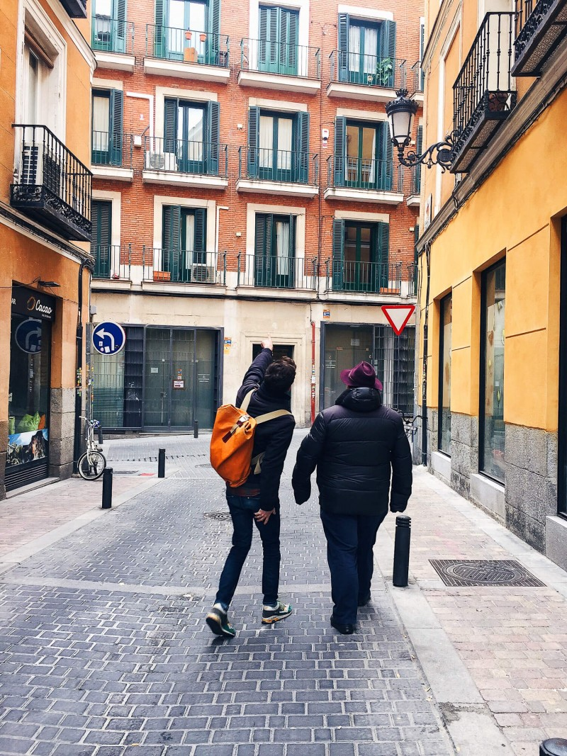 The cute streets of Lavapies in Madrid Spain. This 3 day guide to Madrid share the best things to do and see and where you should eat. Madrid on a budget is definitely possible!