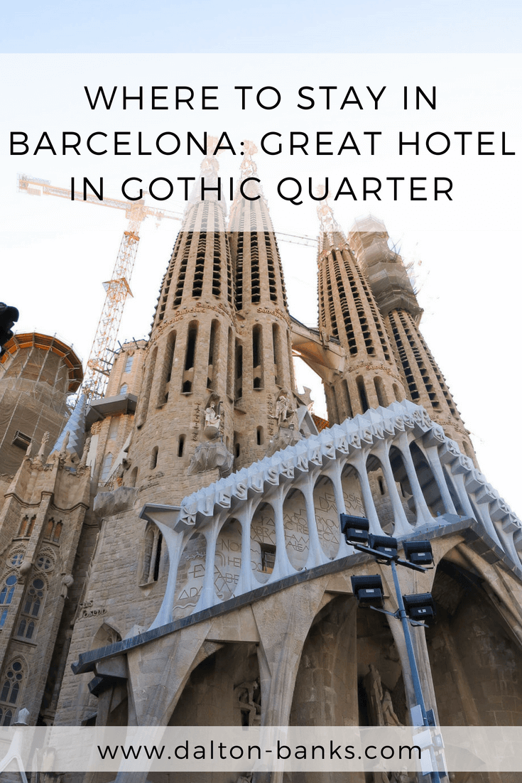 Where to stay in Barcelona. A great value hotel in the Gothic Quarter.