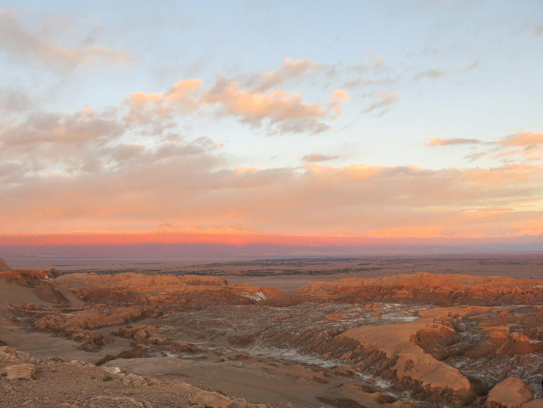 El Valle de la Luna – The Moon Valley. The sunset tour which was our favourite tour whilst in the Atacama Desert.   Dalton-Banks