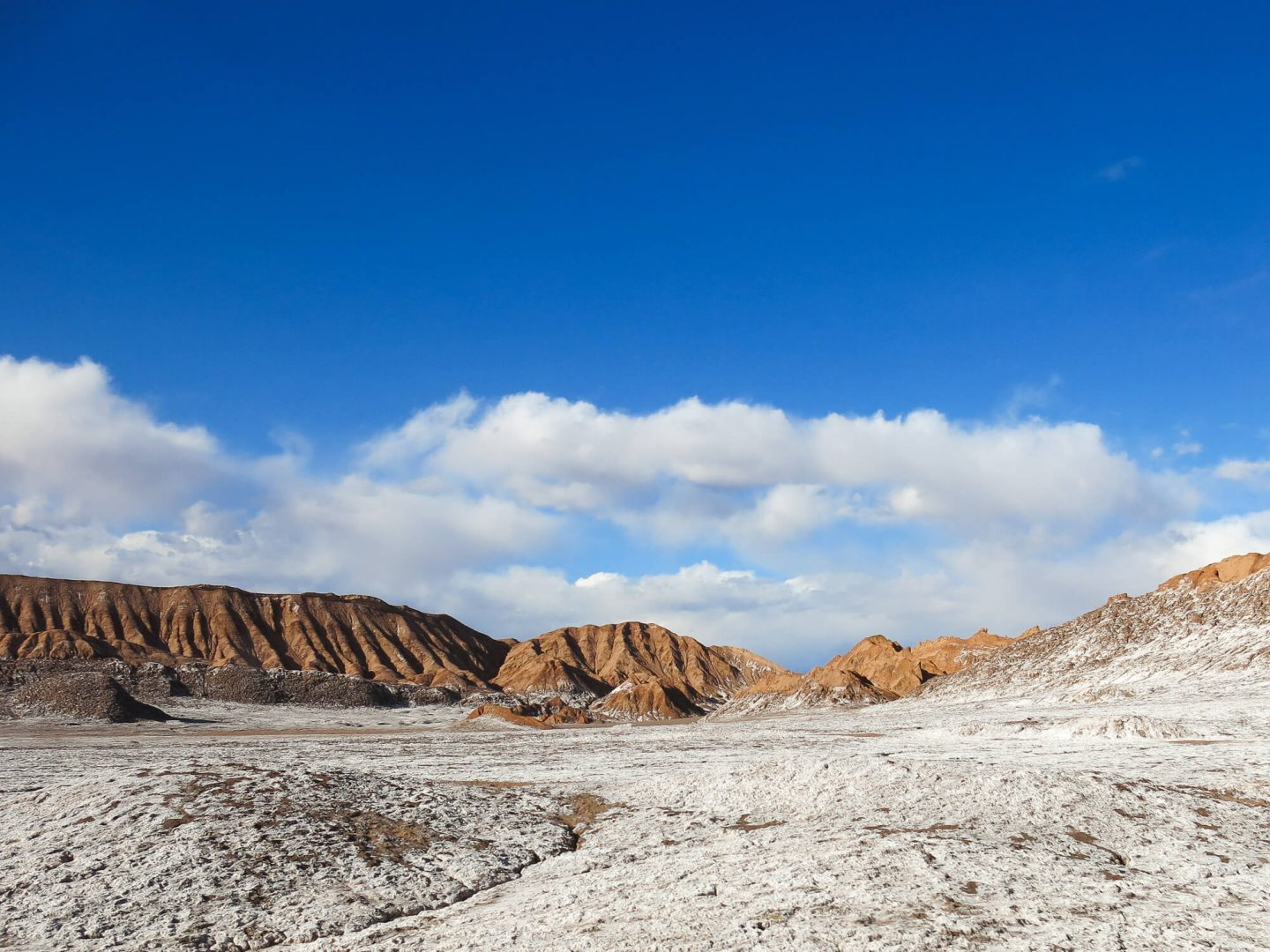 El Valle de la Luna – The Moon Valley. This part of the Atacama Desert is like stepping foot onto a different planet! This was my favourite tour we did whilst in the Atacama Desert. | Dalton-Banks